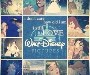 childhood, never too old, and disney image