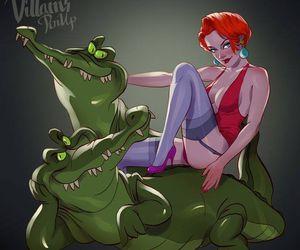 crocodile, medusa, and rousse image