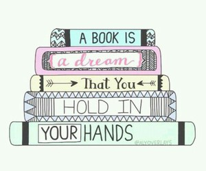 book, dreams, and stories image