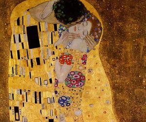 kiss, art, and klimt image