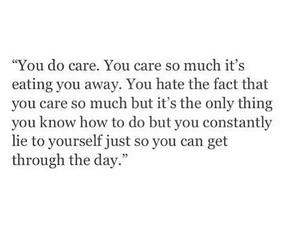 caring and quotes image