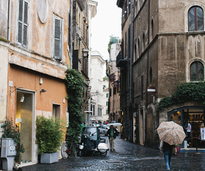 city, rome, and street image
