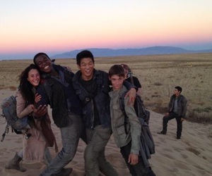 KAYA SCODELARIO, Minho, and the maze runner image
