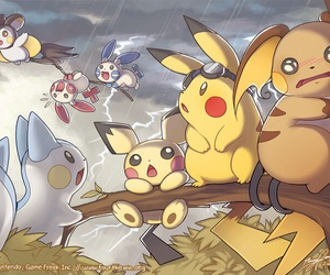 pokemon and pikachu image