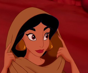 disney, jasmine, and princess jasmine image