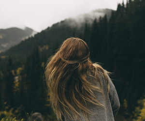 girl, hair, and explore image