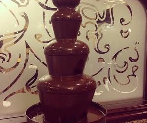 chocolate, food, and fountain image
