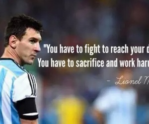 lionel messi, messi, and quote image