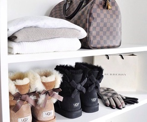 Louis Vuitton, sweaters, and uggs image