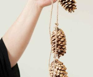 christmas, diy, and cone image