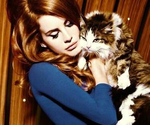 lana del rey, cat, and lana image