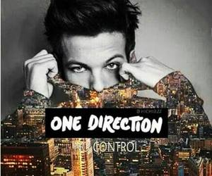 one direction, louis, and no control image