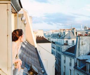 girl, city, and life image