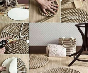 diy, rope, and home image
