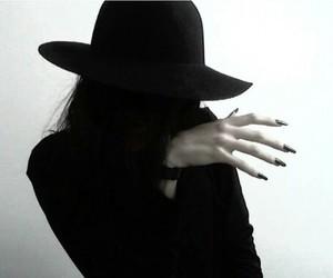 black, pale, and grunge image