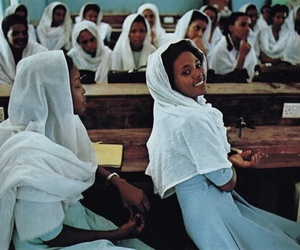 woman, africa, and education image