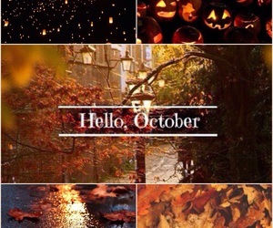 autumn, Dream, and hello october image