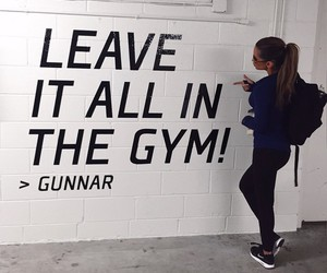 gym, fitness, and sport image