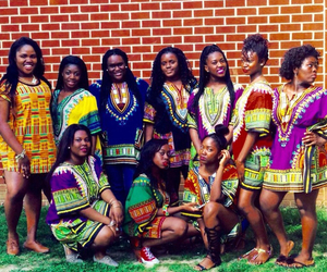 squad, african women, and african dresses image