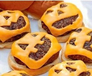 Halloween, food, and hamburger image