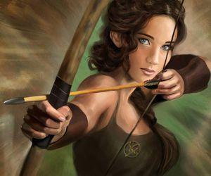 archer, bow and arrow, and creativity image