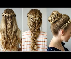 hairstyles, youtube, and back to school image