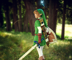 link, cosplay, and Legend of Zelda image