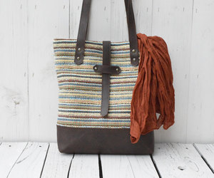 autumn, bag, and tote image