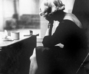 black and white, Marlene Dietrich, and vintage image