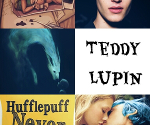 harry potter, hufflepuff, and remus lupin image