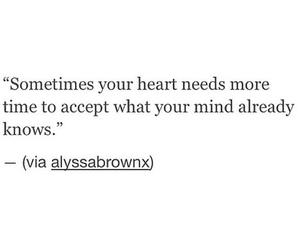 love, heartbreak, and quote image