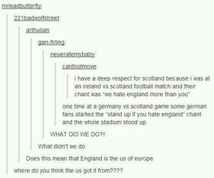 tumblr, funny, and scotland image
