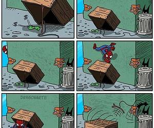 batman, spiderman, and comics image