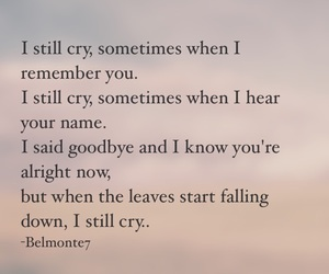 cry, still, and love image