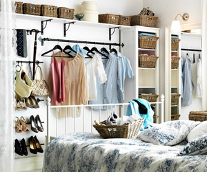 bedroom, bed, and style image