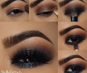 fit, make up, and makeup tutorial image