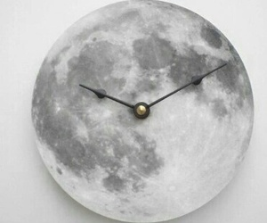 moon and clock image