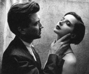 david lynch, black and white, and Isabella Rossellini image
