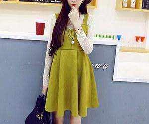blouse, dress, and kfashion image