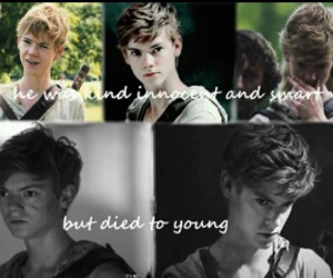 thomas brodie sangster and maze runner image