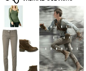 costume, diy, and maze runner image