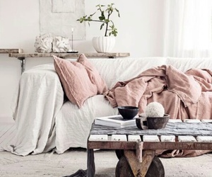 bed, cozy, and sweet image