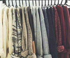 winter, sweater, and cold image