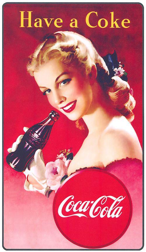 Кока-кола картинки старые