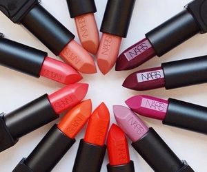 lipstick, nars, and beauty image