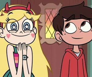 cartoon, star and marco, and disney image