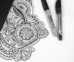 draw and zentangleart image
