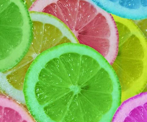 colors, lemon, and food image