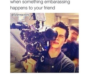 funny, teen wolf, and dylan obrien image