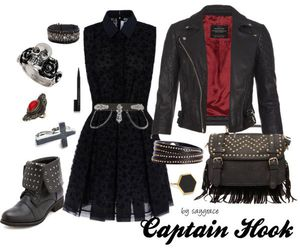 clothes, inspired, and captain hook image